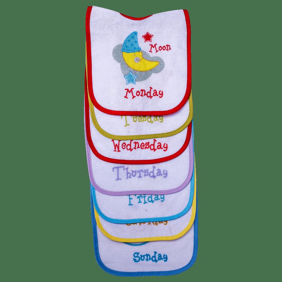M.mame Baby Bib (Pack of 7)