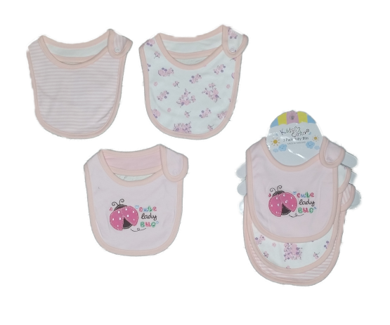 Kids Center Bibs ( Pack of 3 )