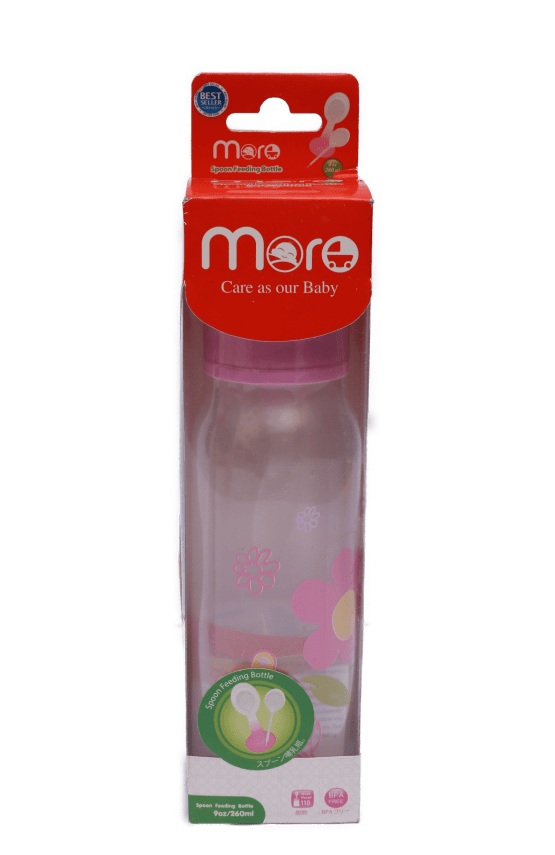 More Baby Spoon Feeder  9Oz / 260mL ( Pink )