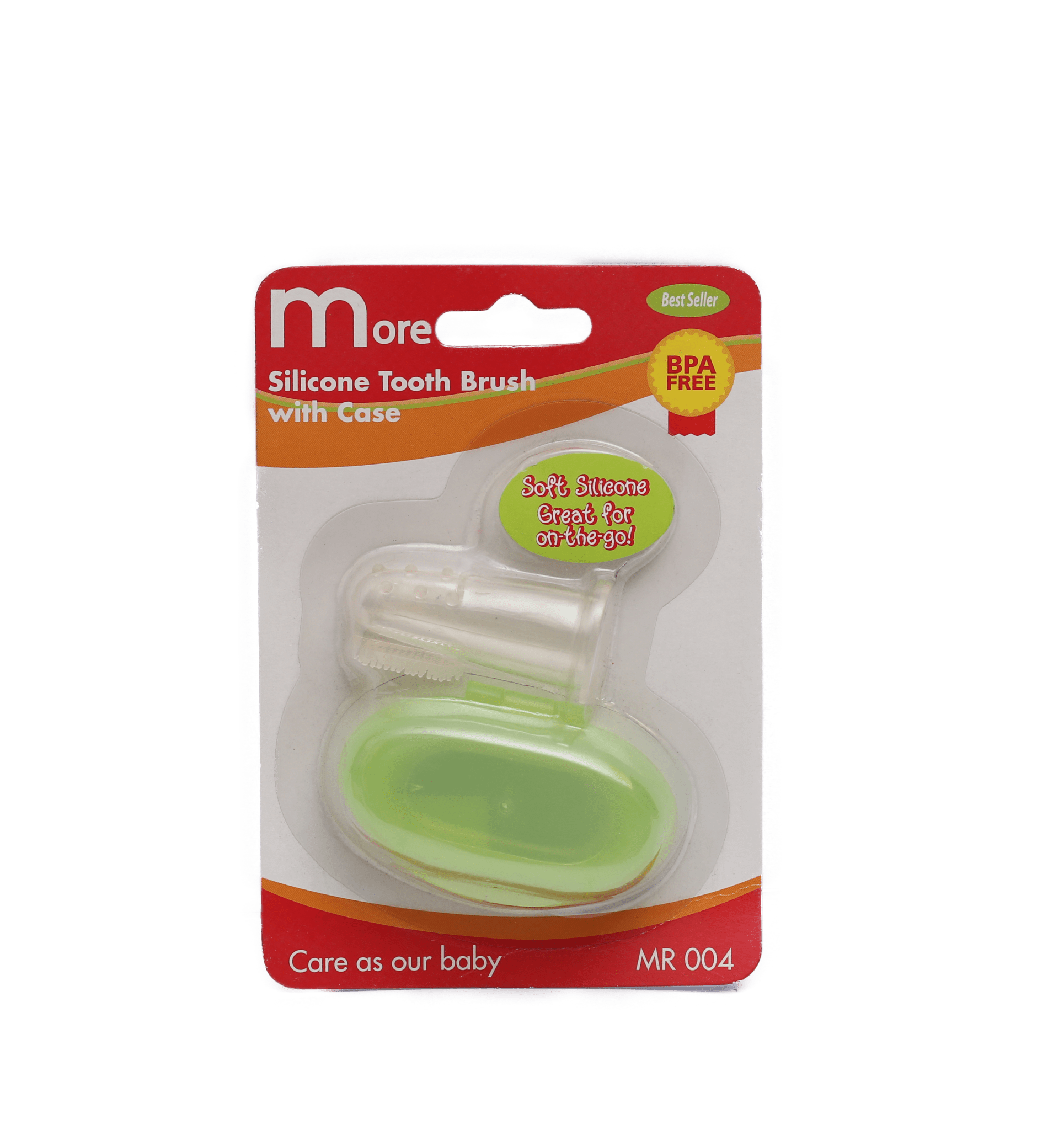 More Silicone Tooth Brush ( Green )