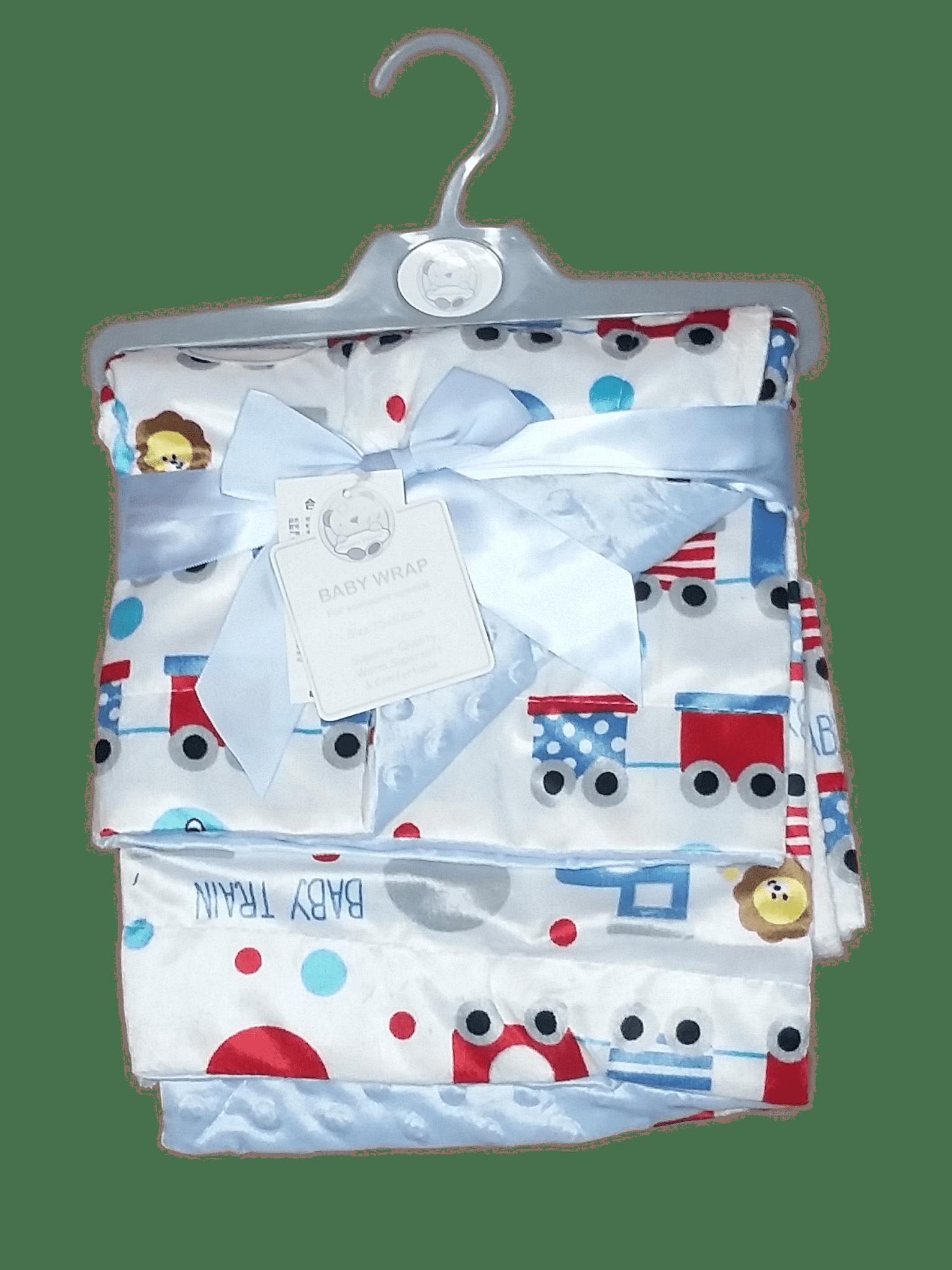 Luvena Reversible Baby Blanket / Wrapping Shawl