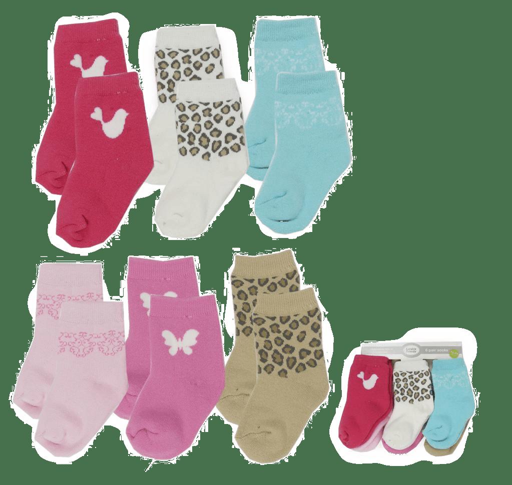 Lavable Friends Socks ( Pack of 6 )