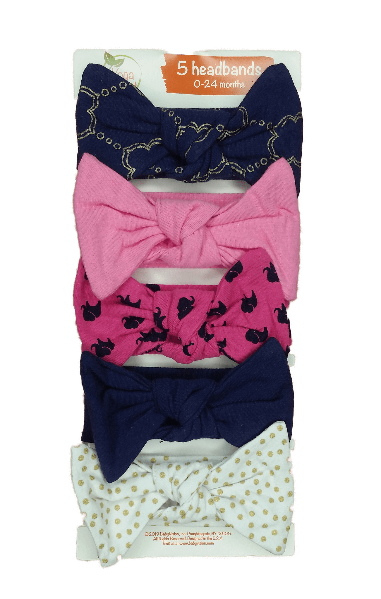 Yoga Sprout Baby Headbands ( Pack of 5 )