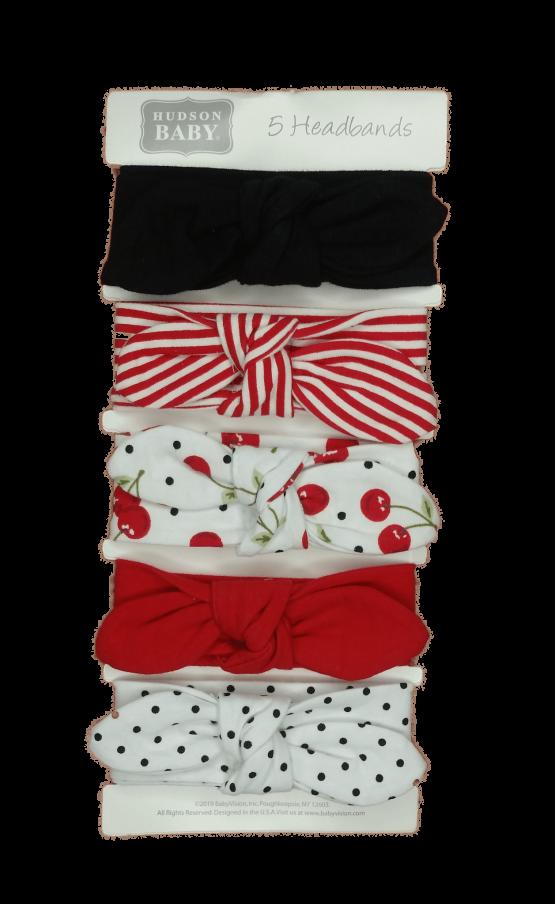 Hudson Baby Headbands ( Pack of 5 )
