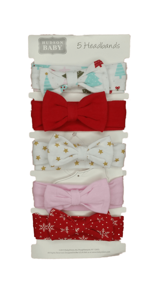 Hudson Baby Headbands ( Pack of 5 )