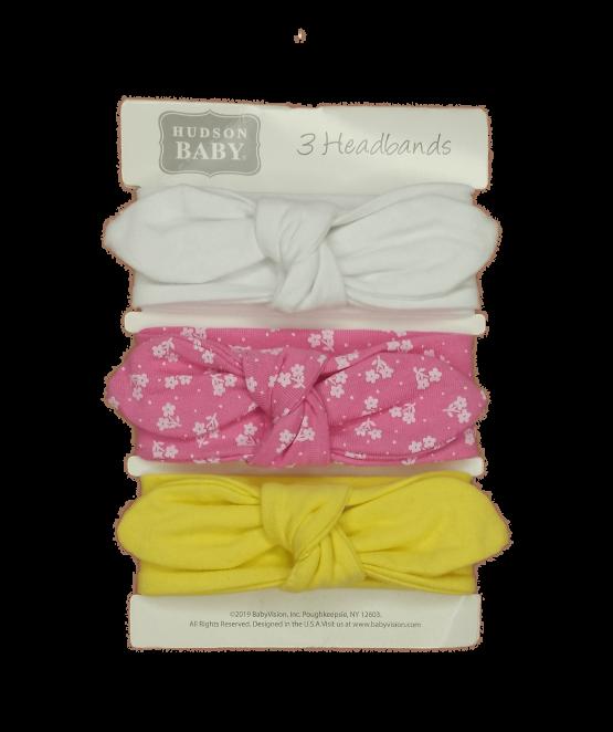 Hudson Baby Headbands ( Pack of 3 )