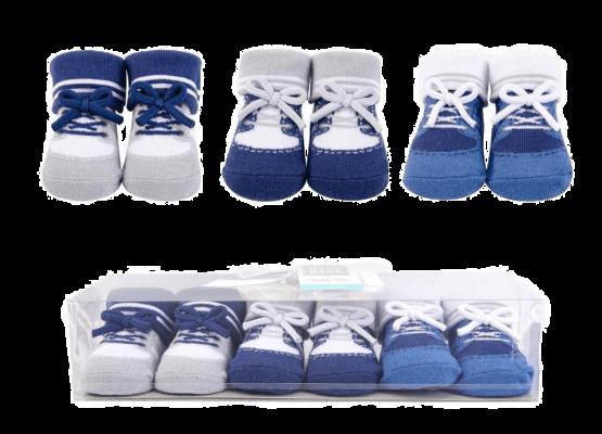 Hudson Booties Socks ( Pack of 3 )