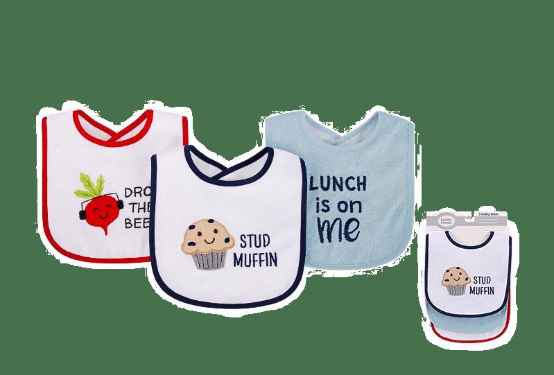 Hudson Baby Bibs ( Pack of 3 )