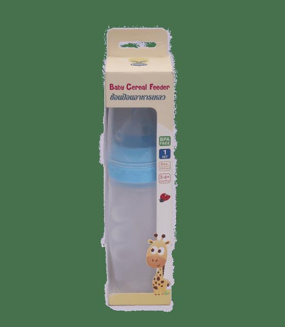 Puppu Baby Cereal Feeder 8oz / 250ml ( Blue )