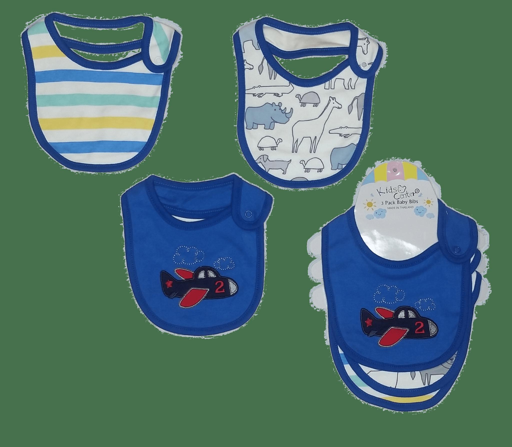 Kids Center Bibs ( Pack of 3 )