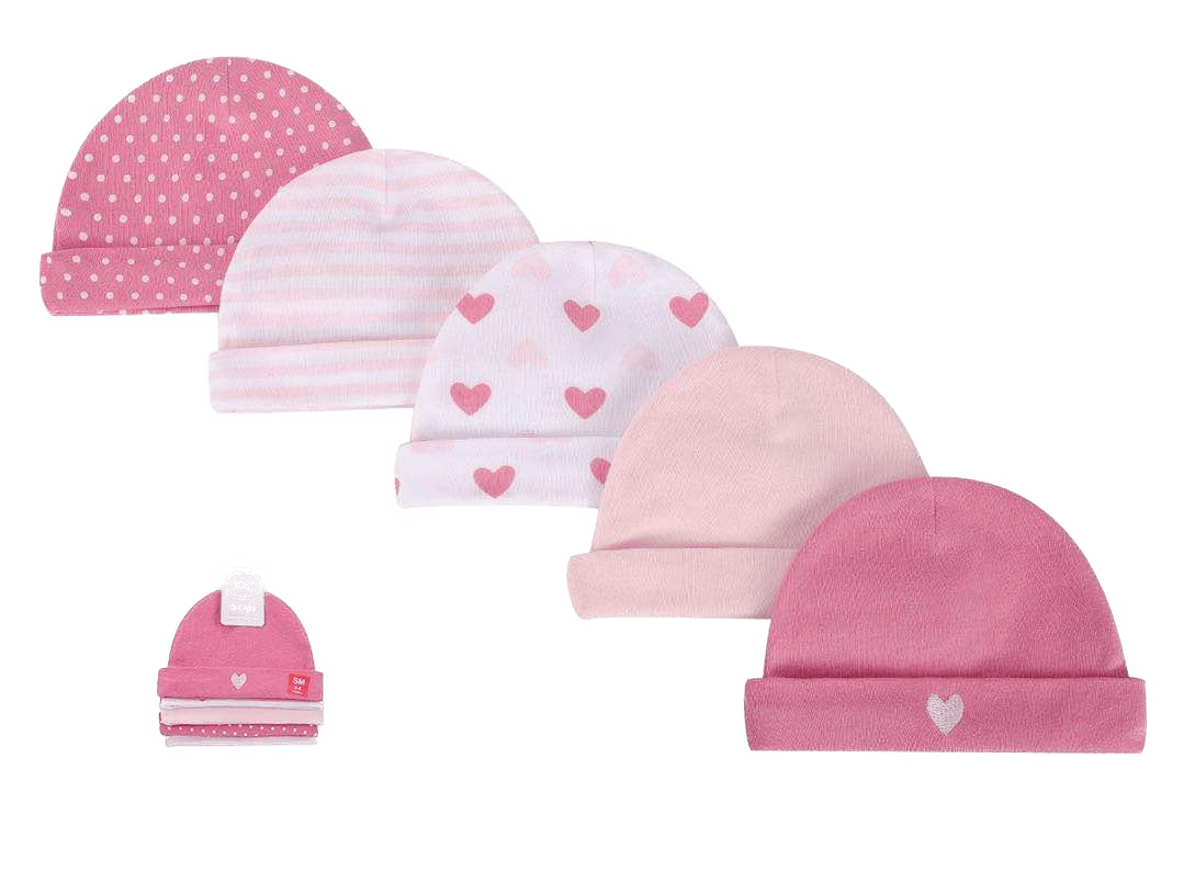 Luvable Friends Caps ( Pack of 5 )