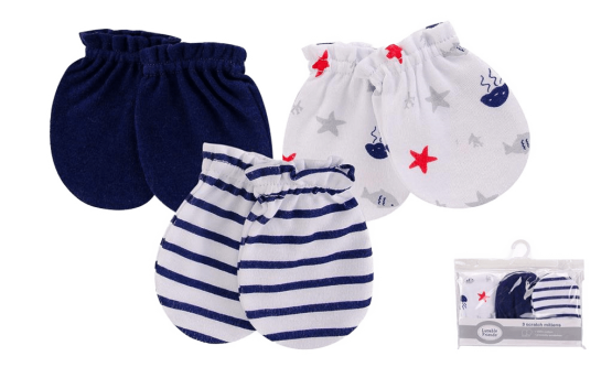 Luvable Friends Mittens ( Pack of 3 )