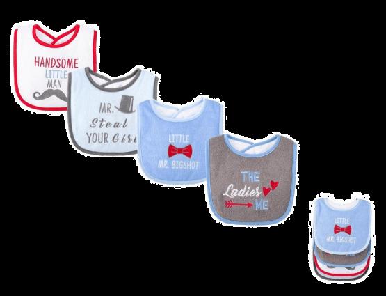 Hudson Baby Bibs ( Pack of 4 )