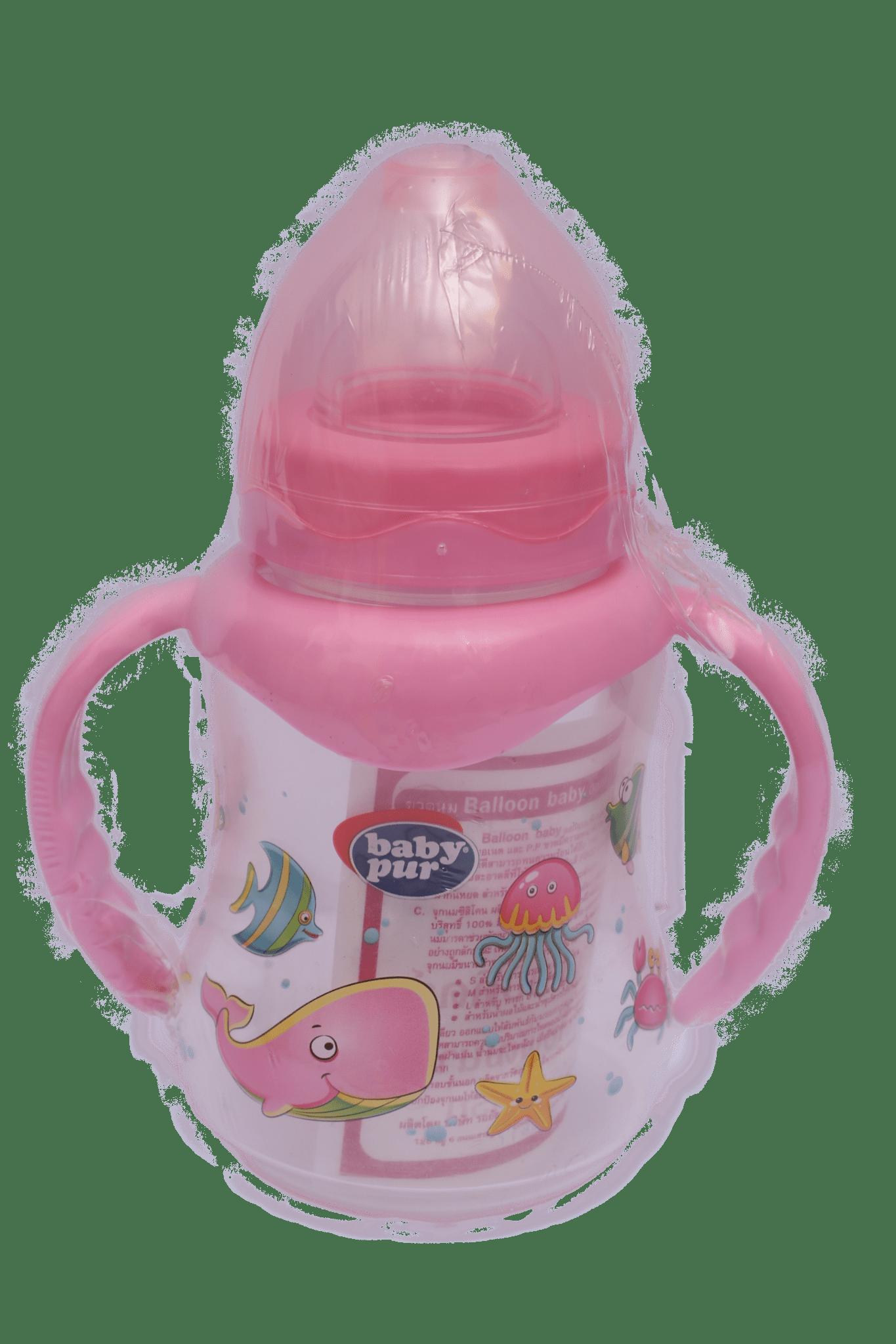 Baby Pur Feeder 9OZ / Pink