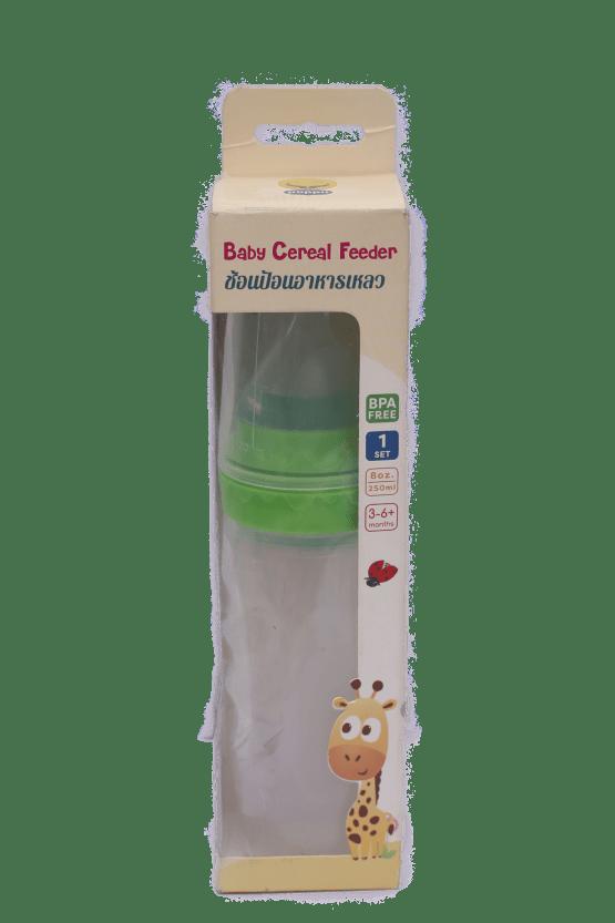 Puppu Baby Cereal Feeder 8oz / 250ml ( Green )