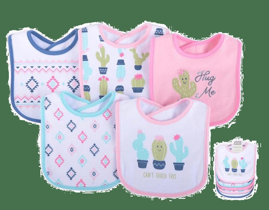 Hudson Baby Bibs ( Pack of 5 )