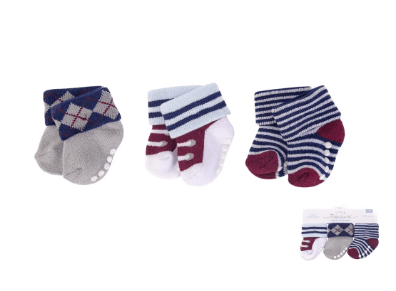 Little Treasure Socks ( Pack of 3)