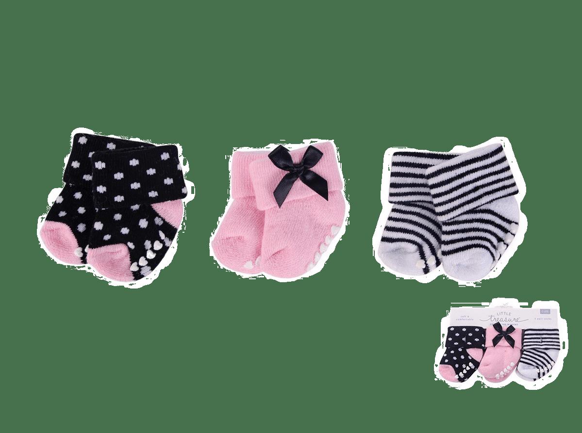 Little Treasure Socks ( Pack of 3 )