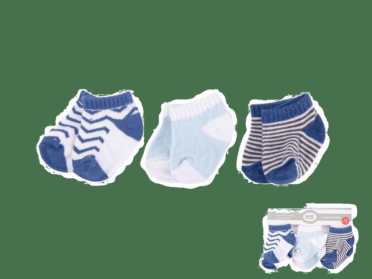 Luvable Friends Socks ( Pack of 3 )