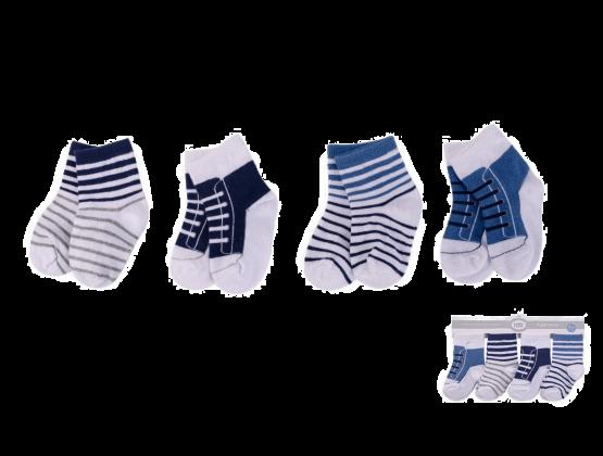 Luvable Friends Socks ( Pack of 4 )