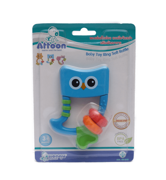 Attoon Soft Rattle Teether