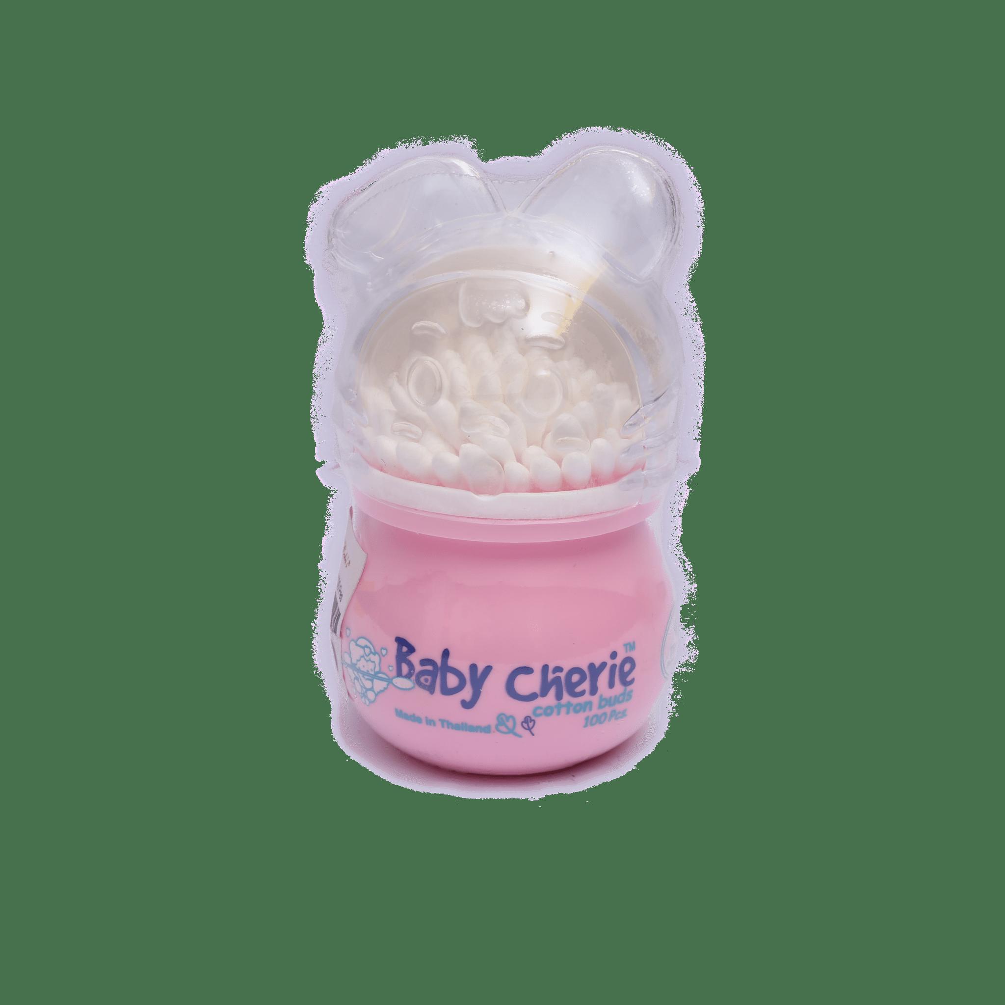 Baby Cherie Cotton Buds ( 100 Piece ) / Pink