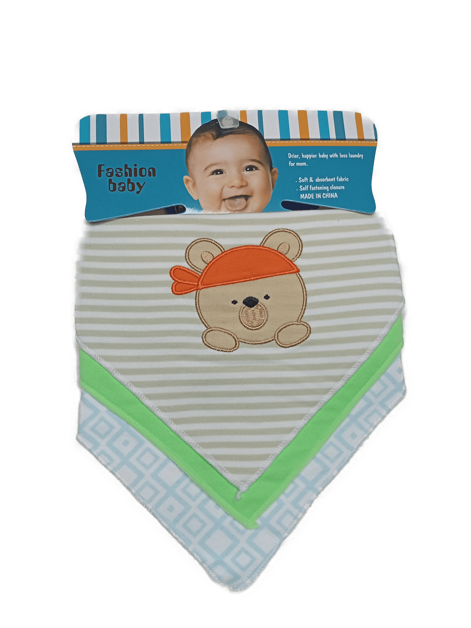 Fashion Baby Bibs ( Pack of 3 )