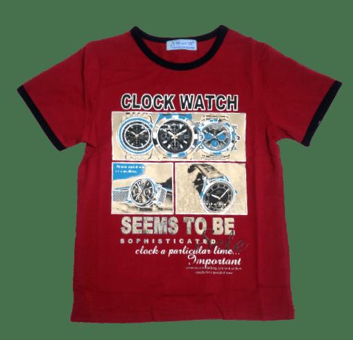 T-Shirt Clock (Mehroon)