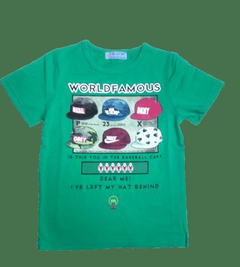 T-Shirt Caps (C.Green)