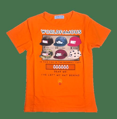 T-Shirt Caps (Orange)