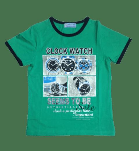 T-Shirt Clock (C.Green)