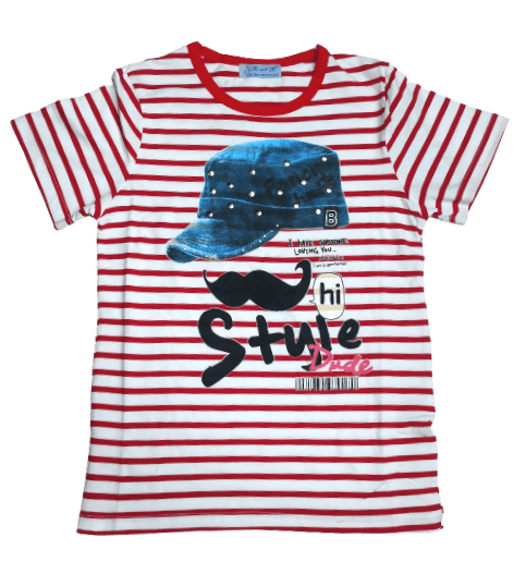T-Shirt Style (Red)