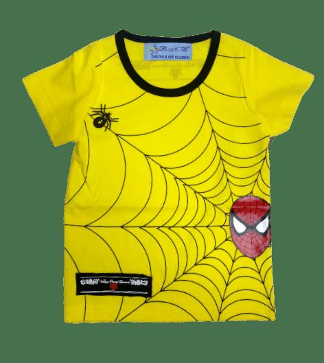 T-Shirt Spidey (Yellow)