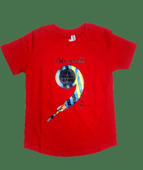 T-Shirt Nine (Red)