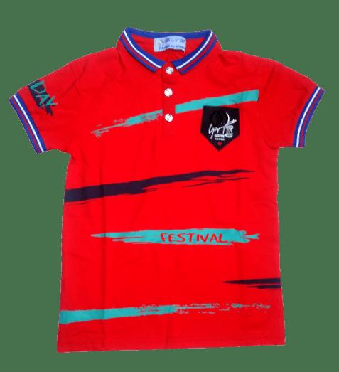 T-Shirt Collar (Red)