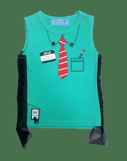 T-Shirt Tie (Green)
