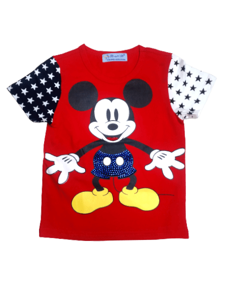 T-Shirt Micky (Red)