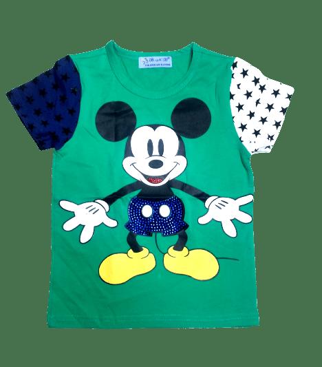 T-Shirt Micky (Green)