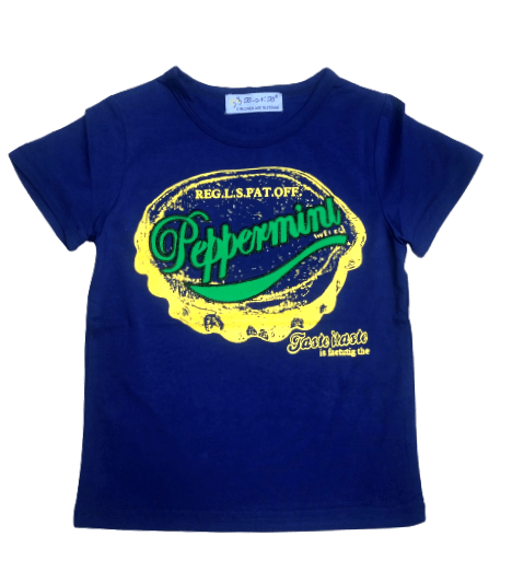T-Shirt Peppermint (R.Blue)