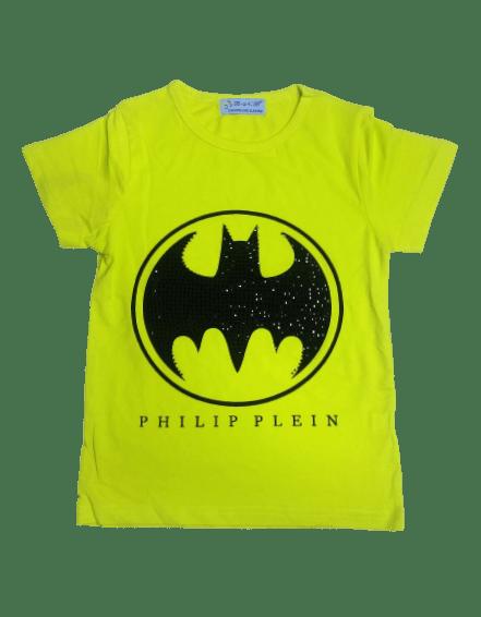 T-Shirt Batman (Yellow)
