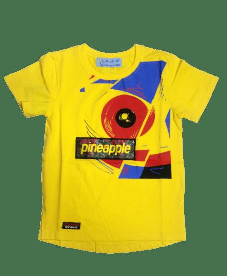 T-Shirt Pineapple (Yellow)