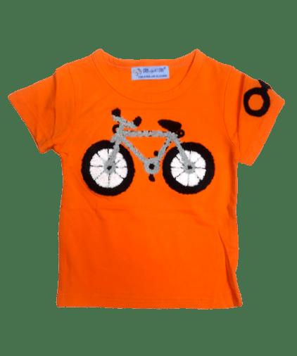 T-Shirt Cycle (Orange)