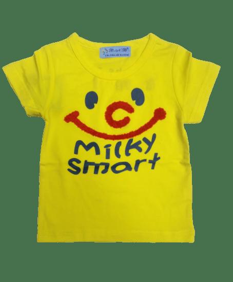 T-Shirt Milky Smart (Yellow)