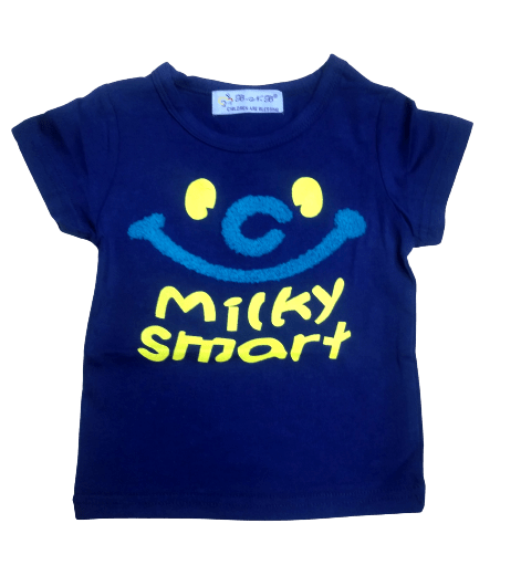 T-Shirt Milky Smart (R.Blue)