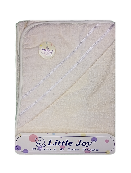 Little Joy Bath Towel (Off-White)