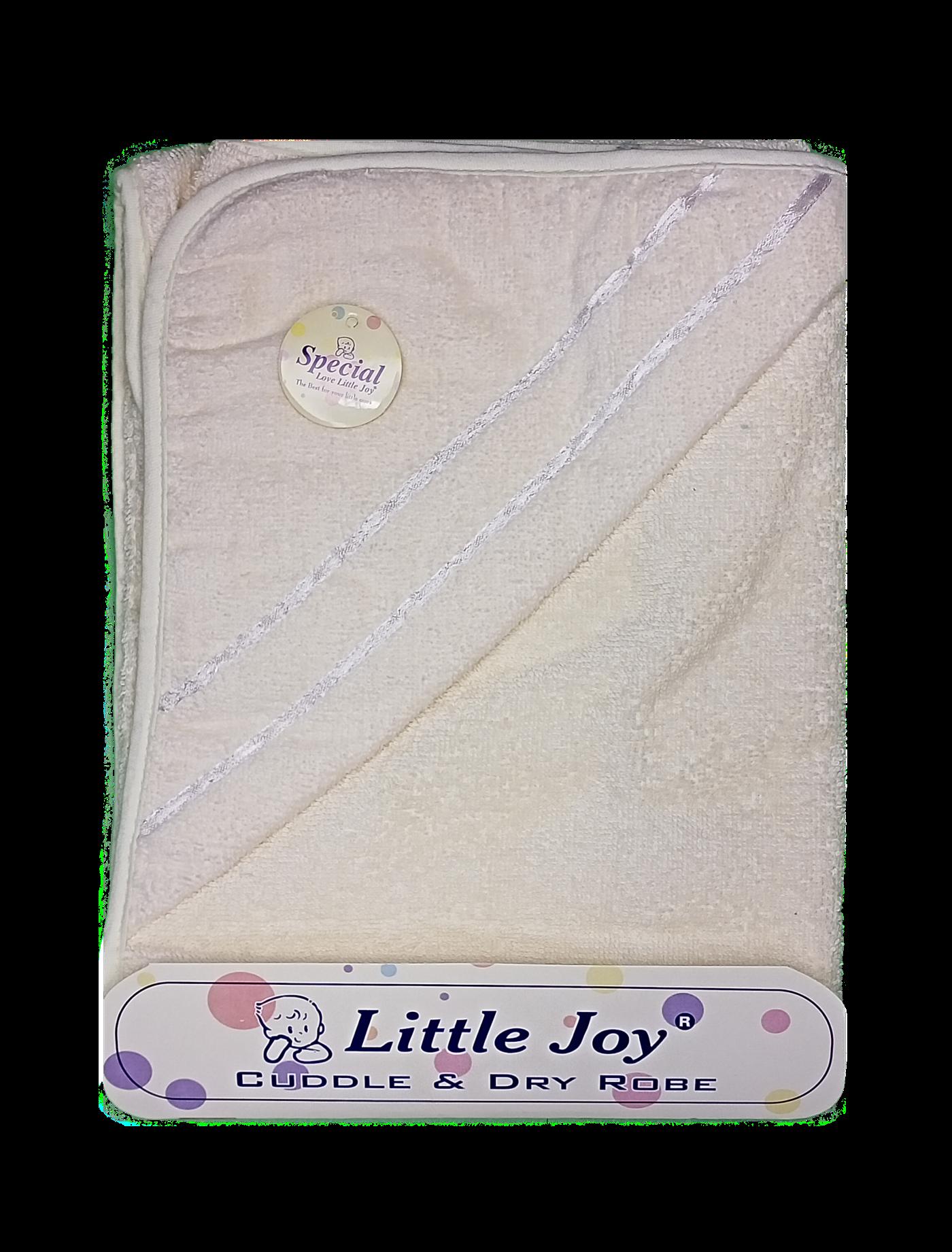 Little Joy Bath Towel (Off-White)
