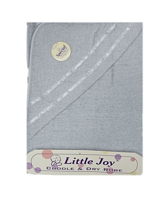 Little Joy Bath Towel (Grey)