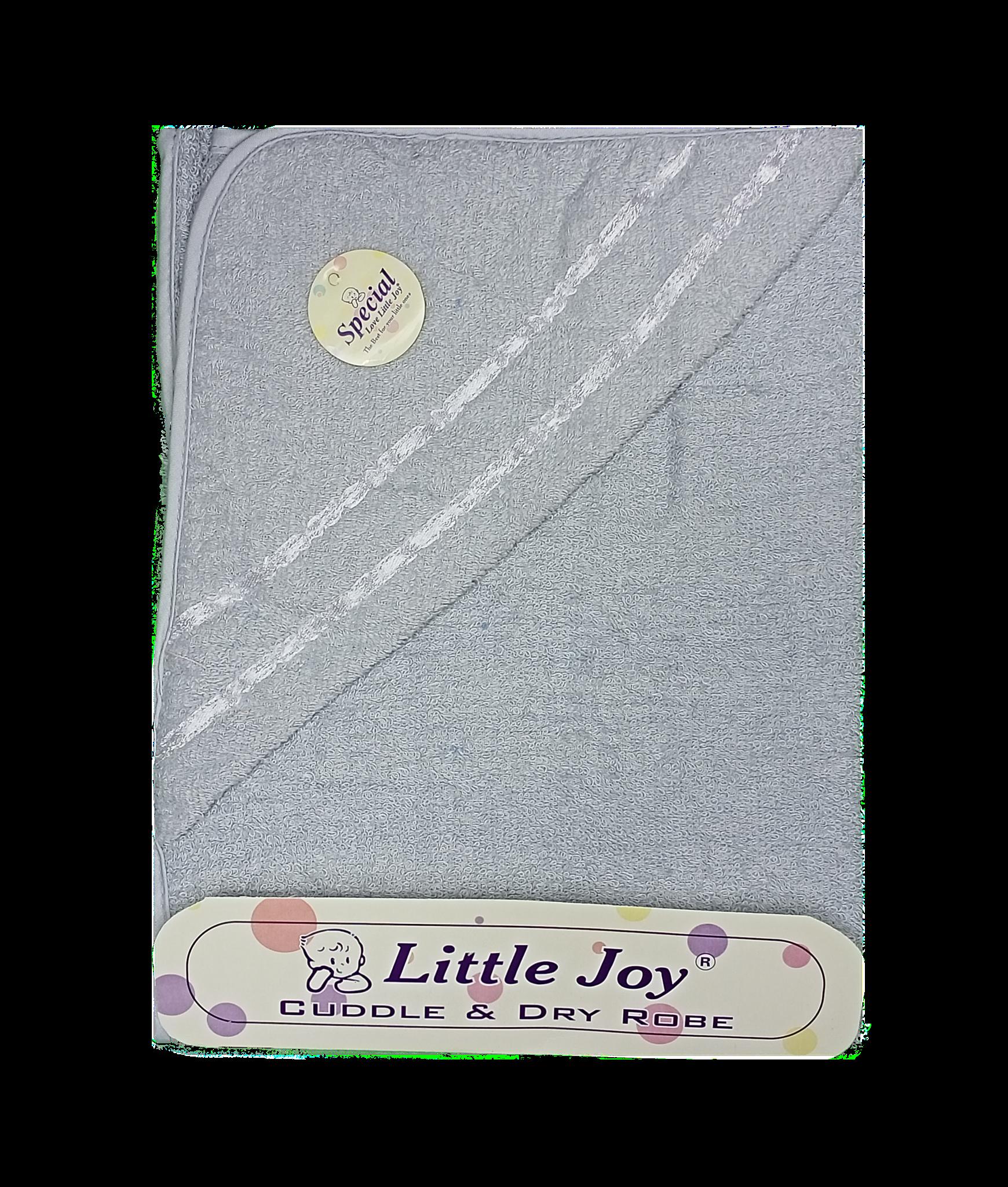 Little Joy Bath Towel (Grey)