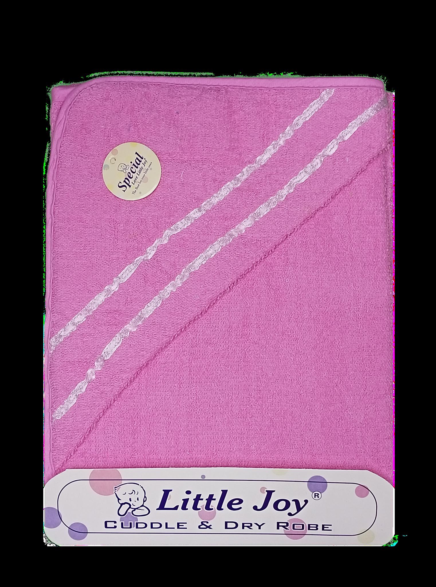 Little Joy Bath Towel (Pink)
