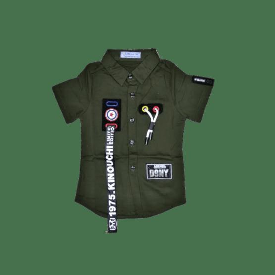Kinouchi Shirt (D.Green)